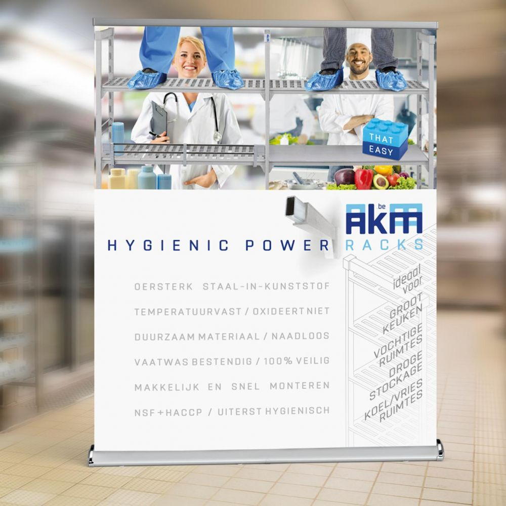 AKM - Hygienic Power Racks - POS Material