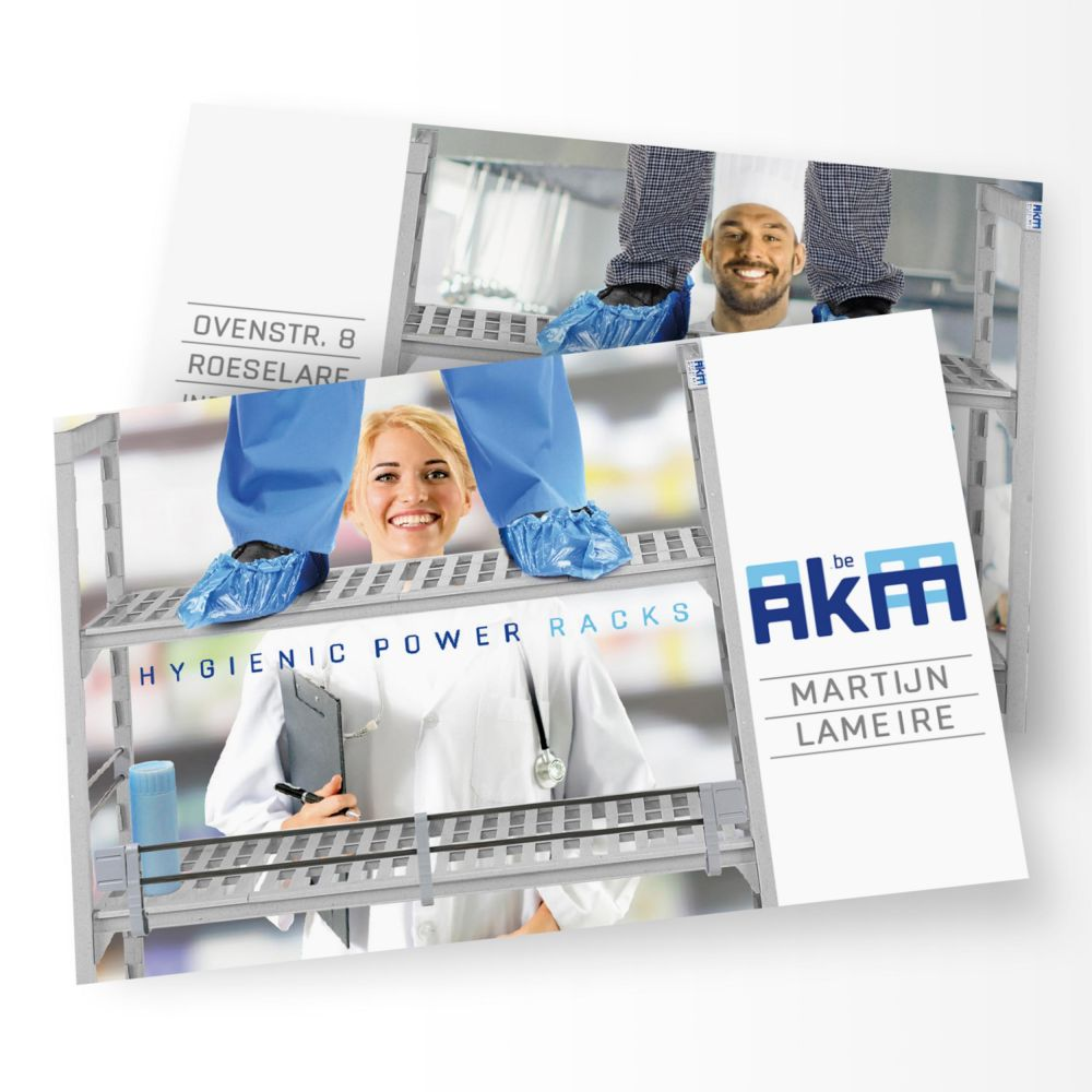 AKM - Hygienic Power Racks - Corporate Identity