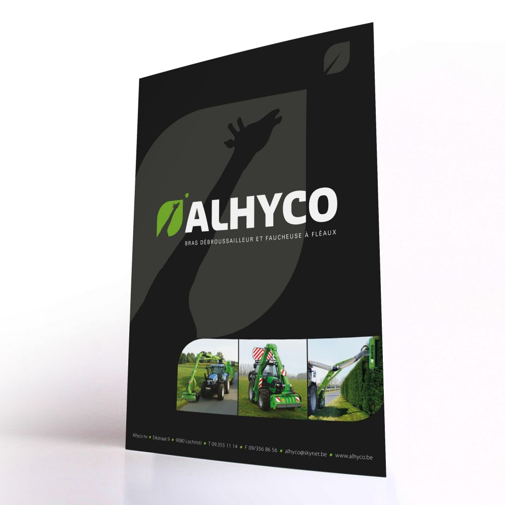 Alhyco - Mowing arms and flail mowers - Leaflet