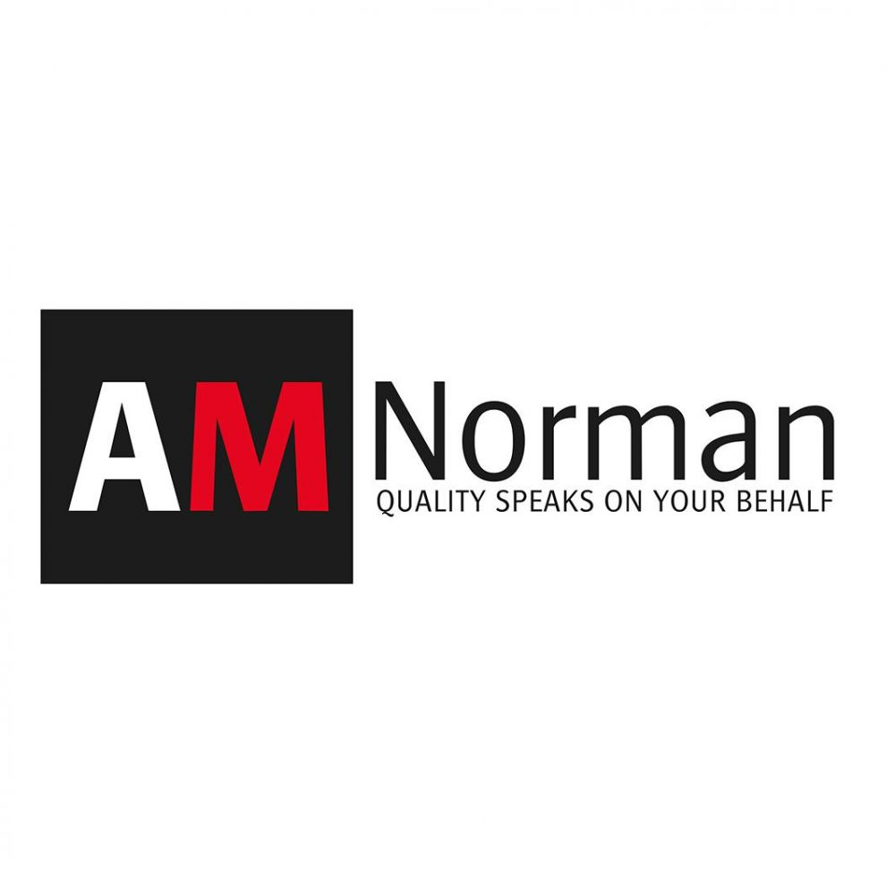 AMNorman - Quality speaks on your behalf - Design logo