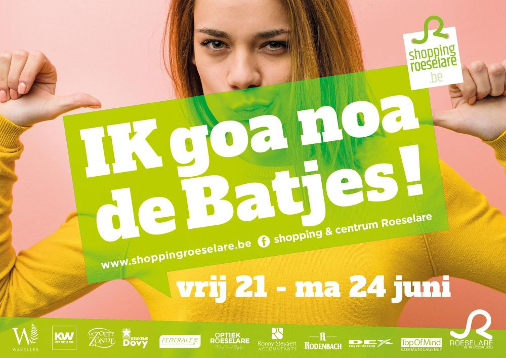 Shopping & Centrum Roeselare - Shopping  in Roeselare - Batjes event