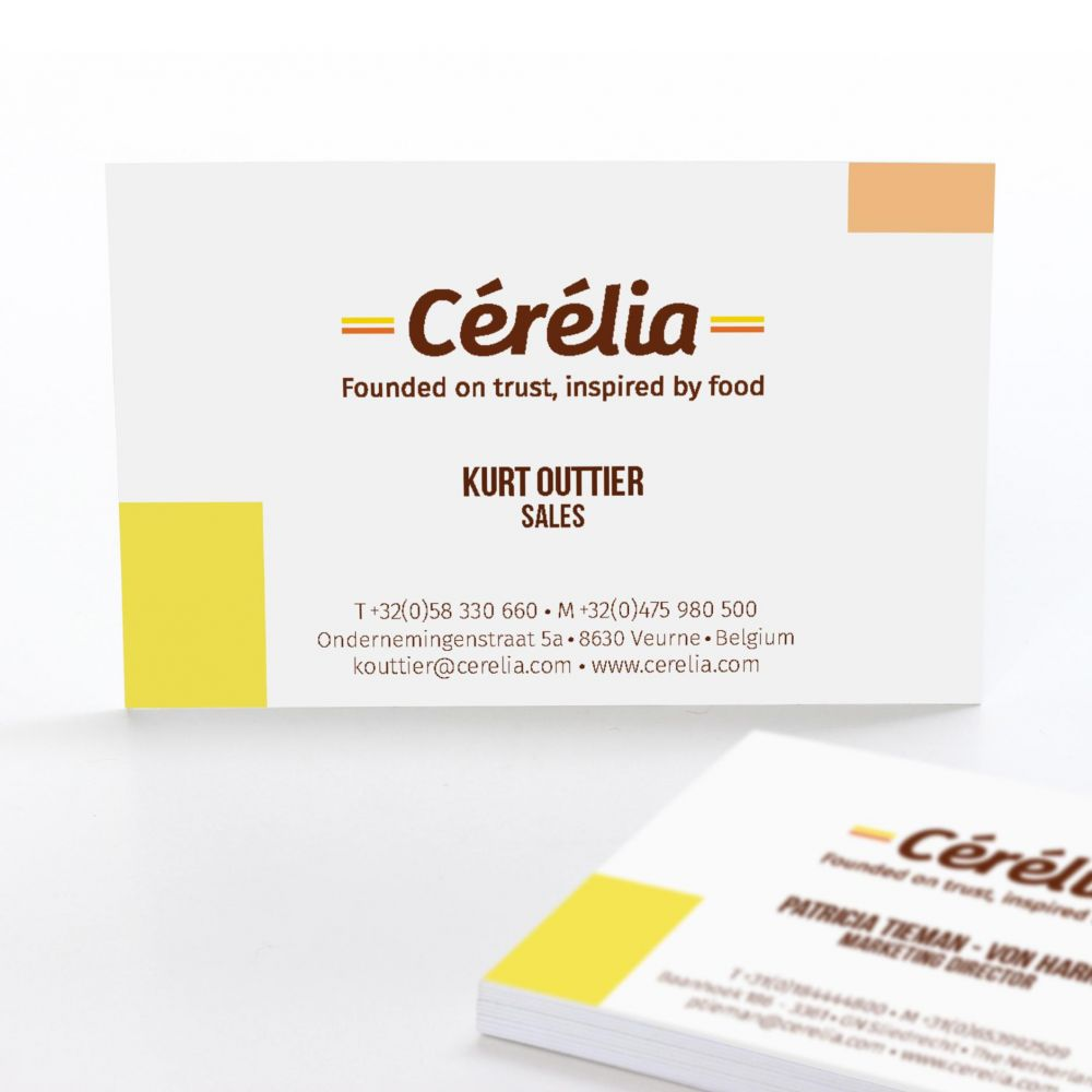 Cérélia - Founded on trust, inspired by food - Corporate Identity