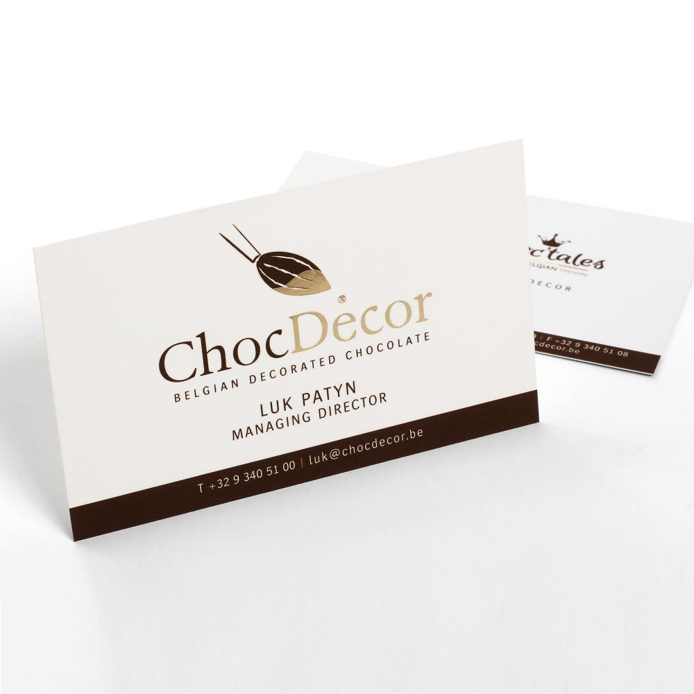 ChocDecor - Belgian Decorated Chocolate - Corporate Identity