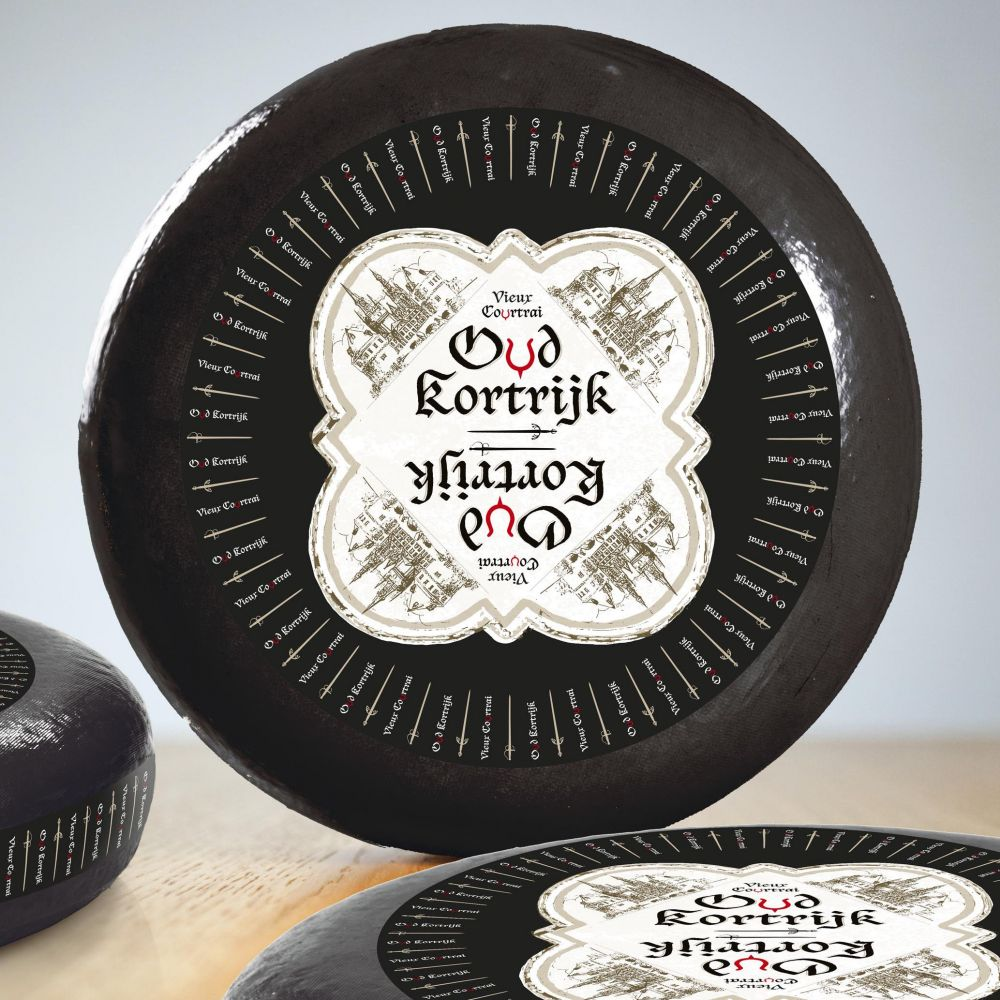 Fermette - Lets enjoy food - Oud Kortrijk cheese label