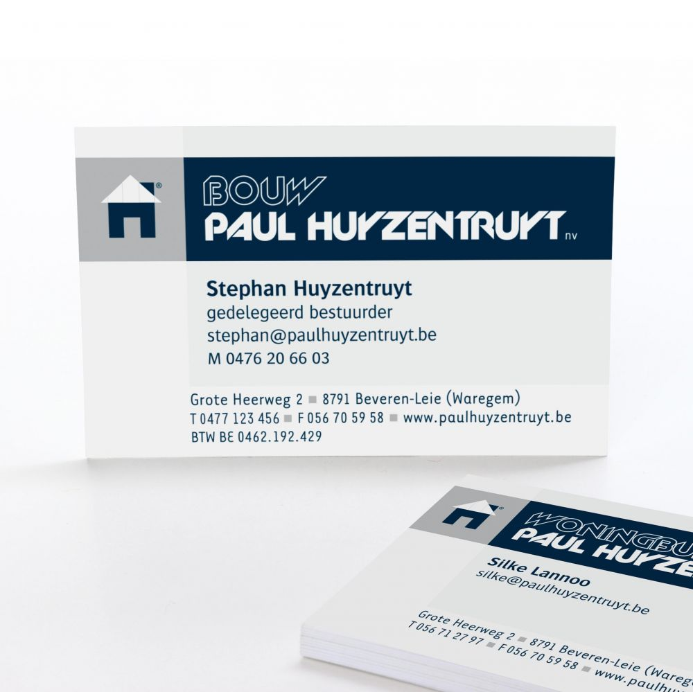 Bouw Paul Huyzentruyt - Building your imagination... - Corporate Identity