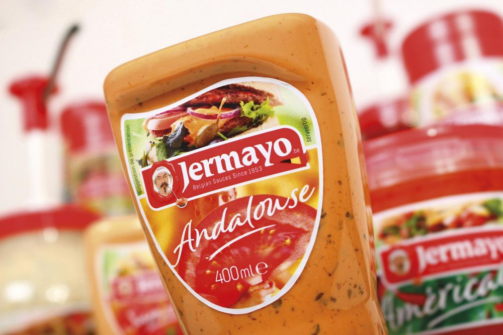 Jermayo - Belgian Sauces Since 1953 - Labels