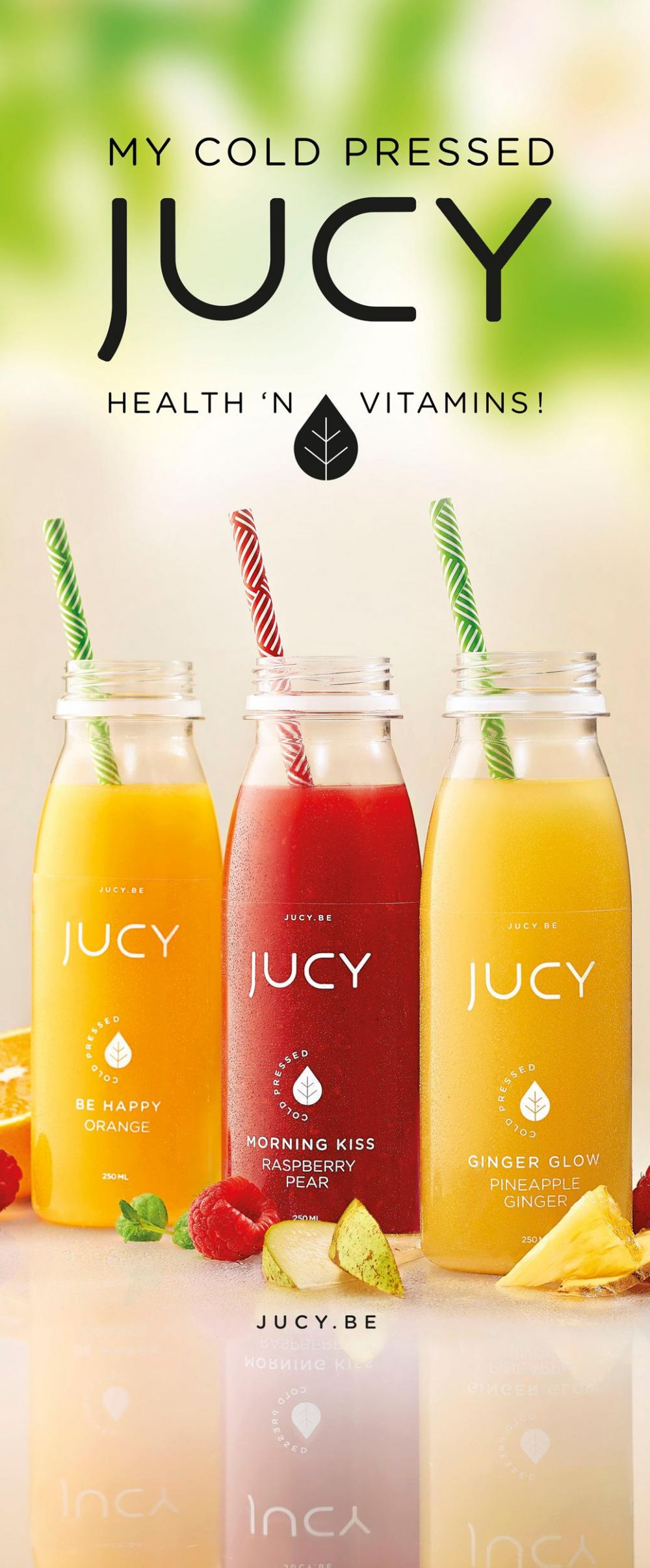Jucy - Cold Pressed - POP material
