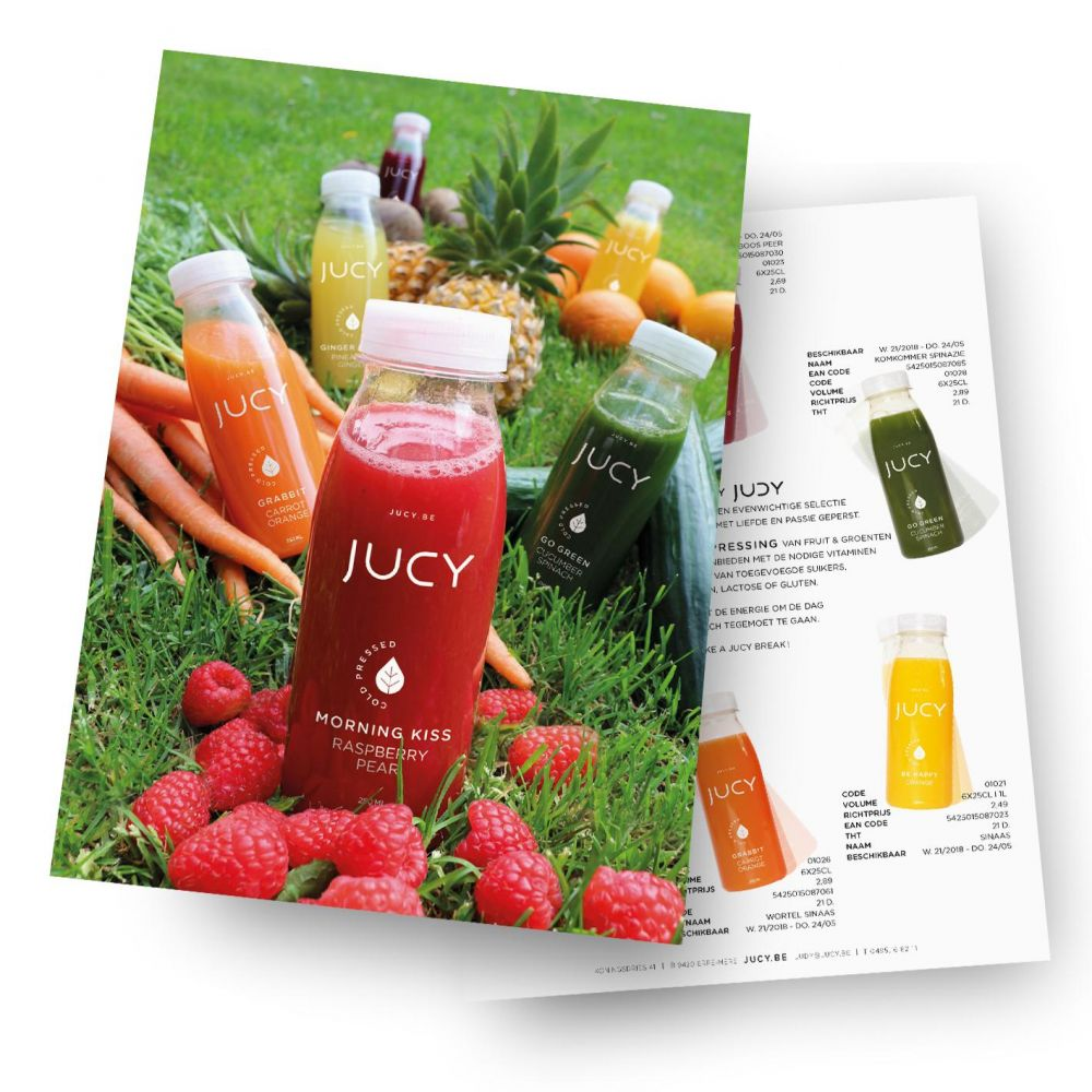 Jucy - Cold Pressed - Leaflets