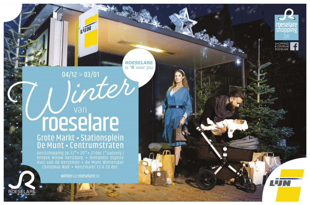 Shopping & Centrum Roeselare - Shopping  in Roeselare - Christmas events