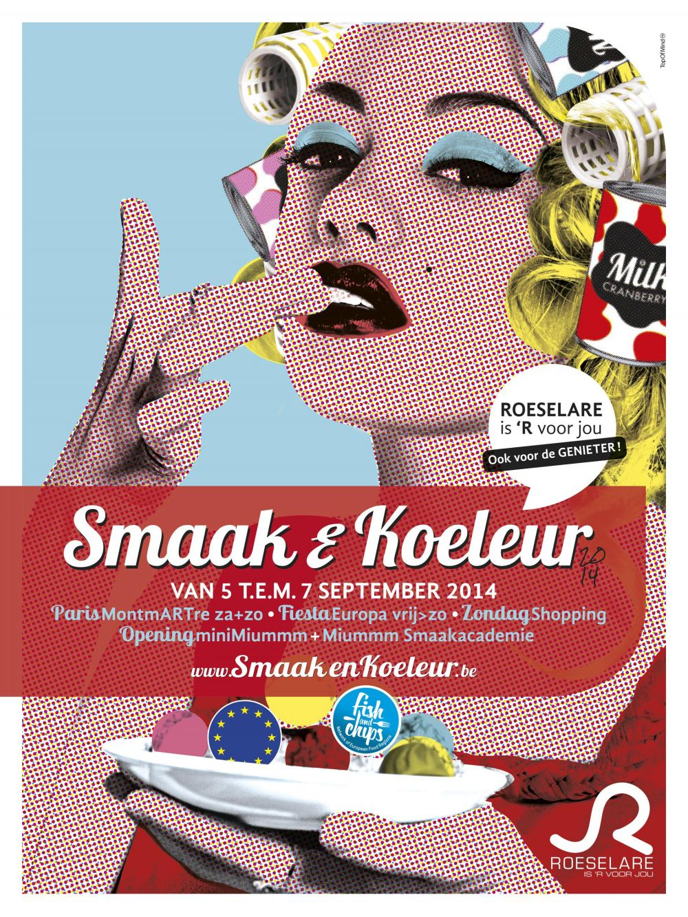 Shopping & Centrum Roeselare - Shopping  in Roeselare - Smaak & Koeleur Event
