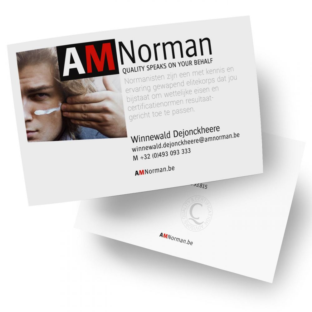 AMNorman - Quality speaks on your behalf - Corporate Identity