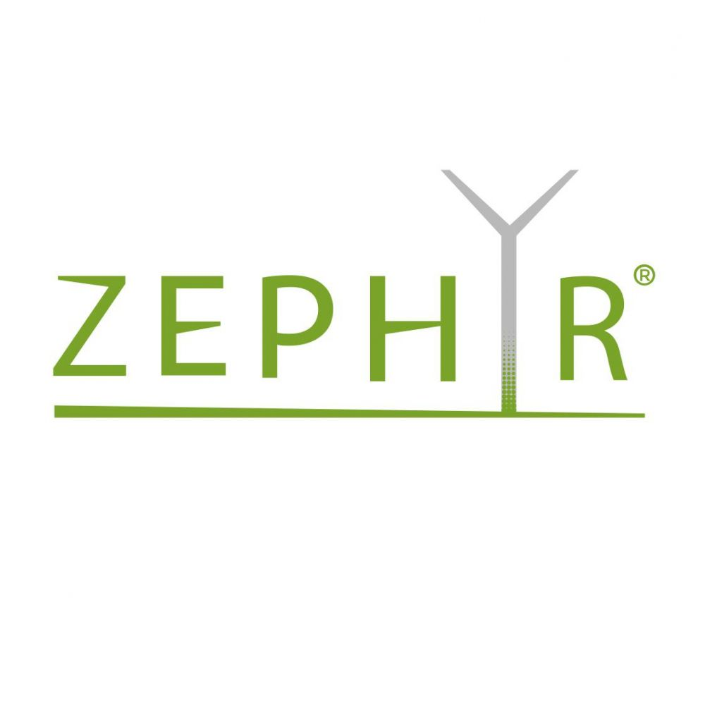 Zephyr - Wind turbines - Design logo